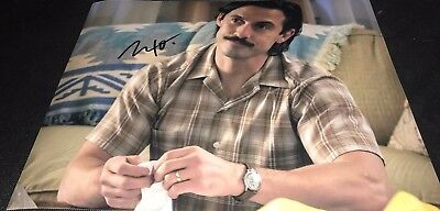 Milo Ventimiglia Actor This Is Us Hand Signed 11X14 Autographed Photo Coa