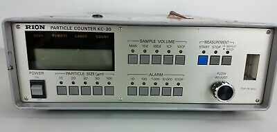 Rion Particle Counter Kc-20 Kc20