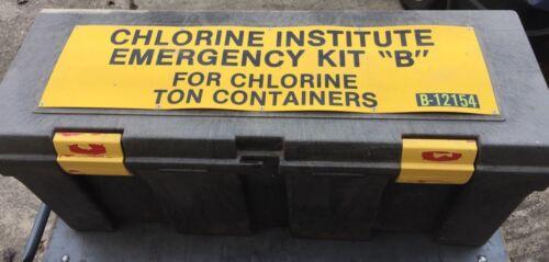 "Indian Springs Mfg. Chlorine Institute 1-Ton Cylinder Emergency Chlorine Kit ""B"""
