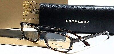 New Authentic BURBERRY BE2073 3002 Tortoise 53/16/135 RX Eyeglasses