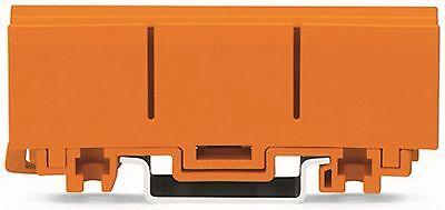 10 Stück WAGO Befestigungssockel Befestigungsadapter 2273-500 orange