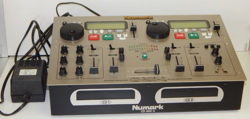 Great Working Numark CD Mix 2