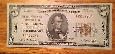 Stroudburg Pennsylvania   First National Bank    5