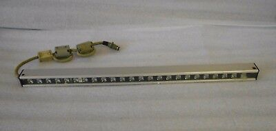 Sunx Safety Light Sensor Emitter SF1-A24P and Receiver SF1-A24D, Used, Warranty