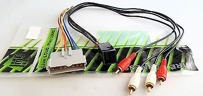 CAR RADIO STEREO PREMIUM SOUND WIRE HARNESS INSTALL PLUG AMP INTEGRATION