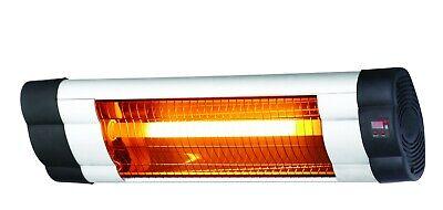 Elektro Infrarot Heizstrahler 2500 W mit 3 Heizstufen, Timer und Fernbedienung