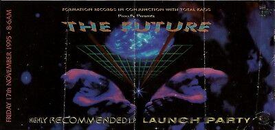 Usado, (RAVE FLYER 1995) TOTAL KAOS / FORMATION RECORDS @ LEICESTER.STARLIGHT. comprar usado  Enviando para Brazil