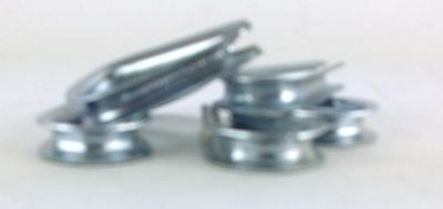 6 Pack Lot 316 Wire Rope Thimbles Fastening Cable Clamp U-clip