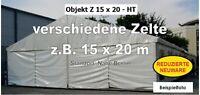 diverse Zelte Festzelte Lagerzelte Lagerhallen z.B. 15x20m NEU Thüringen - Erfurt Vorschau