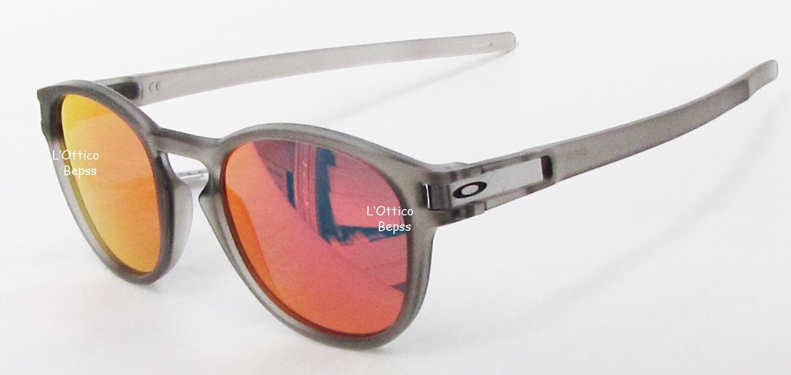242a8cf3e6 Details about SUNGLASSES OAKLEY LATCH mod. 9265-15 MATTE GREY INK lens RUBY  IRIDIUM