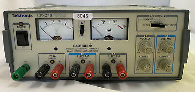 Cps250 Tektronix Dc Power Supply Used