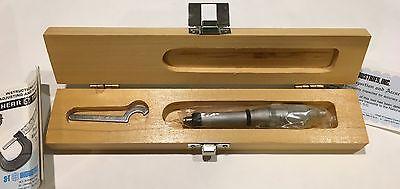 Scherr Tumico 10-0506-1800 Tubular Inside Micrometer 125-150mm Range