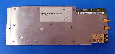 Rohde Schwarz Cmu-b95 Additional Rf Generator 1159.0504.02 From A Cmu200