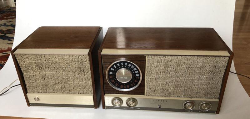 Zenith MJ1035-J  With Remote Speaker, Works