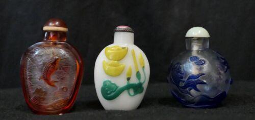 Snuff Bottle Trio