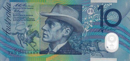 Australia Ten Dollars ($10) 1993 Banknote Outstanding Condition