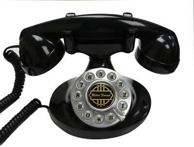 Paramount Alexis 1922 Decorator Phone BLACK
