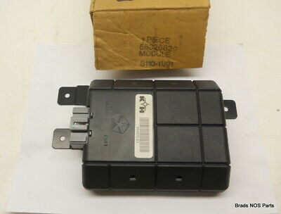 NOS NEW MoPar 1989-1993 Dodge Ram, Ram Cummins Anti-lock rear brake MODULE