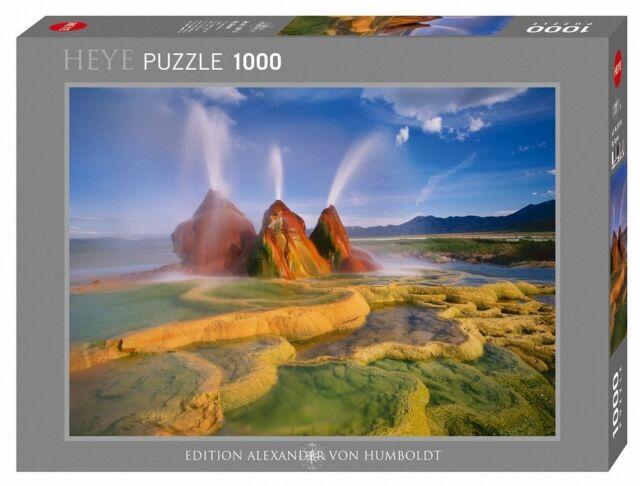 HY29713 - Heye Puzzles - 1000 Piece Jigsaw Puzzle  - Fly Geyser