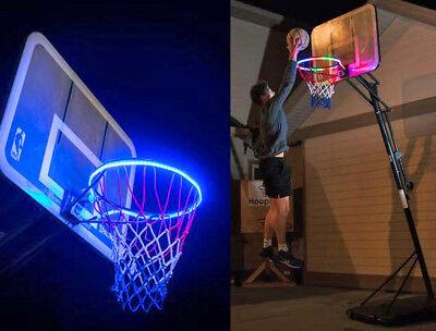 Hoop Light LED Lit Basketball Rim Attachment Helps You Shoot Hoops At Night Lamp](Basketball Light)