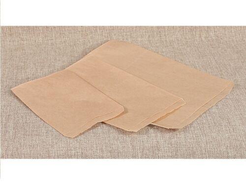 100Pc Kraft Paper Flat Paper Bags Wholesale Bags Kraft Jewelry Gift Bag Lots 100