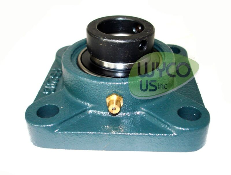 FOUR BOLT FLANGE ASSEMBLY FS205 W/BEARING UEL205-16, FARM EQUIPMENT AND MORE