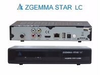 Genuine Zgemma Star LC w/ 12m cable sat gift warranty 12 month 1 year VM combo twin tuner box