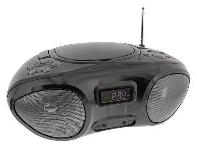 CD-Player Mini Stereoanlage Kompaktanlage Boombox CD MP3 AUX Radio NEU
