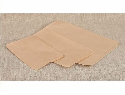 Lot 100 of Brown Kraft Paper Bags for Jewelry Candy Party Favors Merchandising