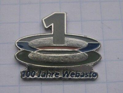 Automobilia 100 Jahre Webasto Pin Badge