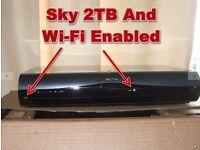 Sky+HD 2TB Wi-Fi Box,DRX895W-C,2TB Hard Drive