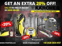 Karcher Valeting Machine Carpet Cleaners K7 K4 K5