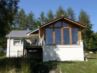 Stunning holiday cottage, Glenborrodale, Ardnamurchan, Scotland west-coast