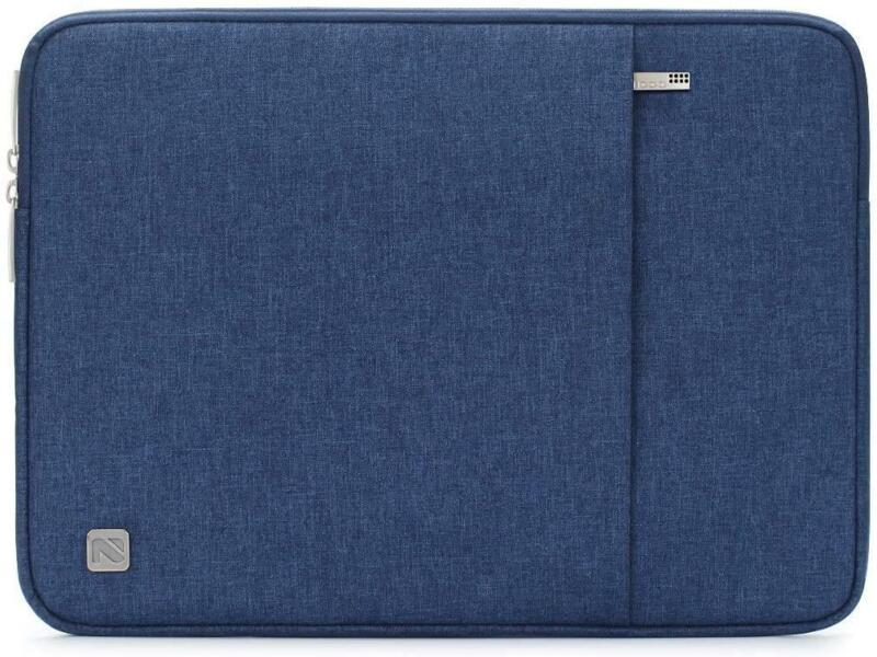 Laptop+Sleeve+With+Protective+Case+For+13%22+MacBook+Pro+-+Blue