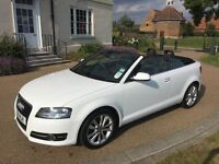 AUDI A3 1.2 CABRIOLET CONVERTIBLE 18K Miles Only, FSH, HPI Clear, Bargain Sale Good Runner Manual