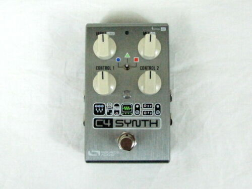 Used Source Audio SA249 C4 Synthesizer Filter One Series Effects Pedal