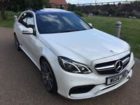 MERCEDES E63 BI-TURBO WHITE PANORAMIC * VAT QUALIFYING - VAT FREE EXPORT - VAT INCLUSIVE IN PRICE