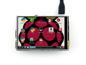 3.5inch RPi LCD for Raspberry Pi Resistive LCD 320*480 TFT Touch Screen