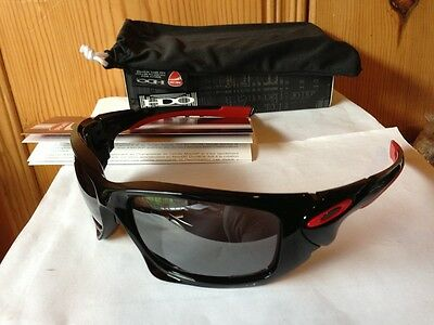 NEW Oakley CASEY STONER EDITION DUCATI SCALPEL Polished Black Iridium OO9134-08