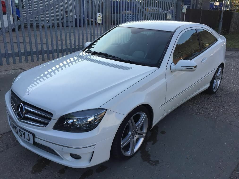 mercedes clc 220 cdi sport 2010 manual fsh hpi clr vgc mot white good runner 60k miles. Black Bedroom Furniture Sets. Home Design Ideas