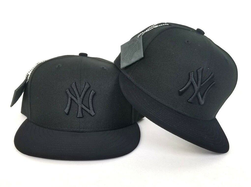 0ca881cf44e New Era Timberland Black on Black color New York Yankees 59Fifty Fitted hat  Cap