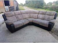 Corner sofa recliner ~ Free Delivery