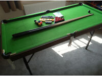 Pool /Snooker Table (foldable)