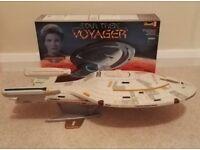 Star Trek U.S.S. Voyager Revell Model Kit - Fully made/completed