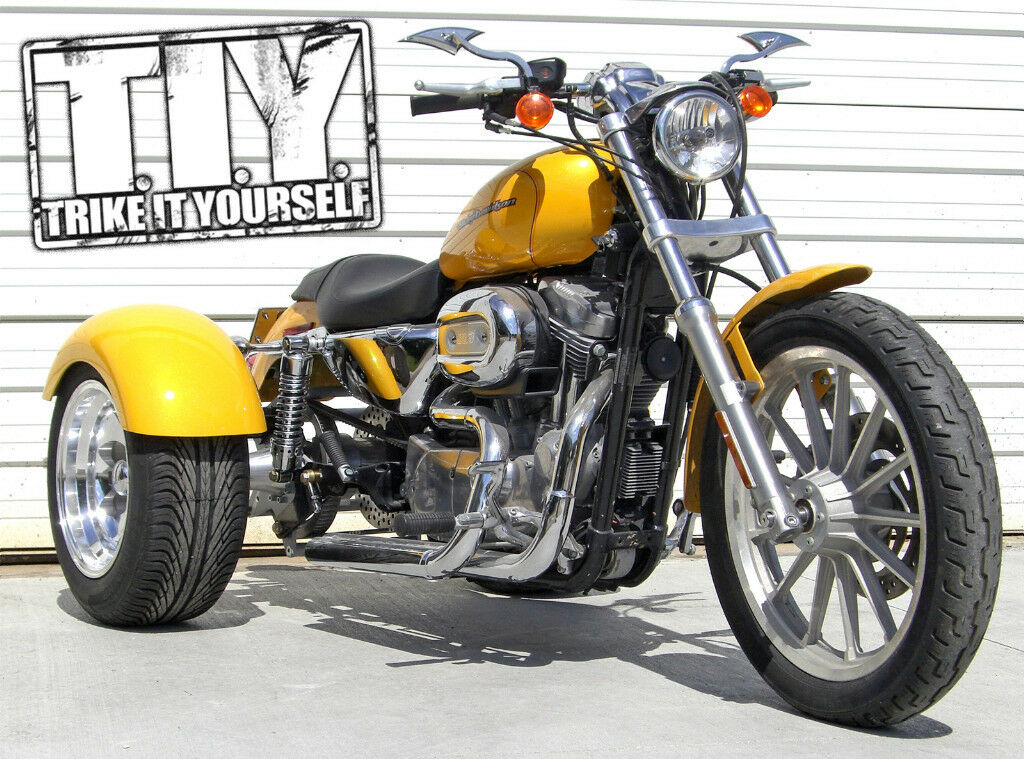 Frankenstein Trikes Sport Trike Kit for Harley-Davidson 2004 & up