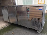 Stainless Steel Commercial Counter Fridges (XTWO) SPARES OR REPAIR