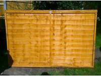 Fence panel 1.2m x 1.8m (6ft)