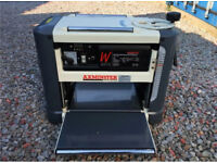 Axminster MB1933 bench top thicknesser with stand