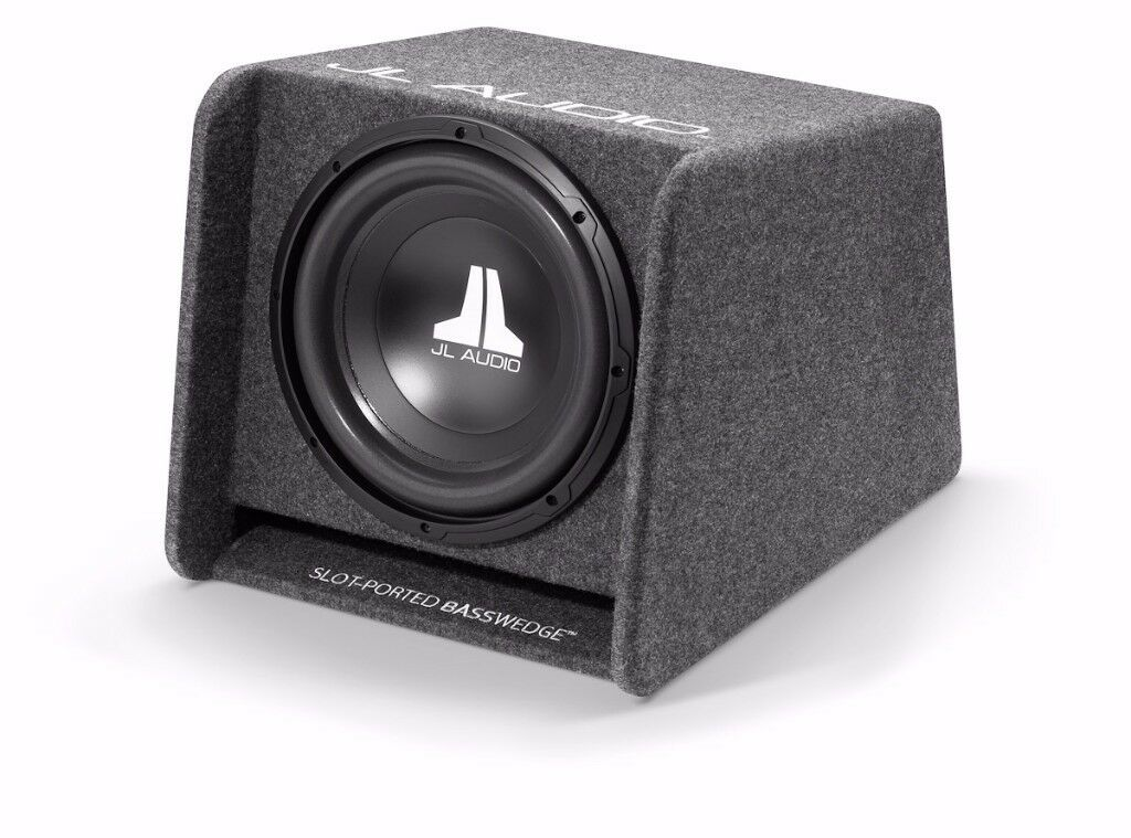 """JL Audio CP112-W0v3 12"""" 300w Slot Ported Bass Wedge Subwoofer Sub"""