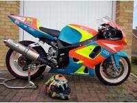 SUZUKI GSXR600 600cc Track Bike & Track Box - Full Package - BEMSEE - BMCRC Thunderbike GIXER GSXR
